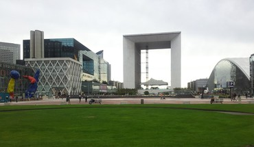 paysages urbains Paris France Grande Arche de La Défense HD wallpaper