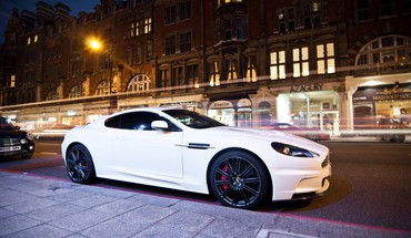 Cars urban white aston martin dbs HD wallpaper