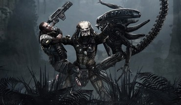 Alien vs predator human HD wallpaper