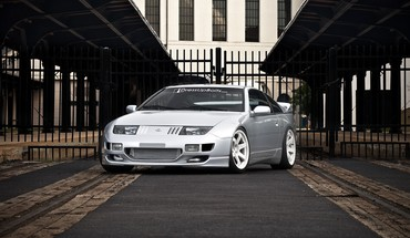 Autos vor Silber Nissan 300ZX jdm Fairlady Z  HD wallpaper