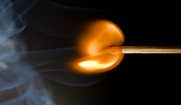 Fire matchsticks smoke HD wallpaper