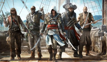 Assassins Creed noir jeu de flag  HD wallpaper