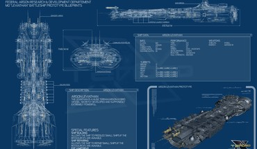 Leviathan blueprints spaceships x3: terran conflict HD wallpaper