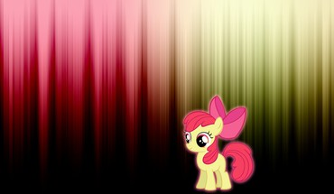 Applebloom my little pony glow HD wallpaper