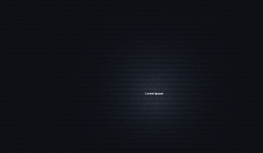 Blue minimalistic dark typography lorem ipsum background HD wallpaper