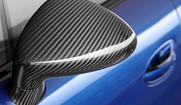 Stingray porsche carbon fiber front angle view HD wallpaper