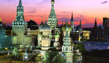 Kremlin Moscou architecture rouge russie carré  HD wallpaper