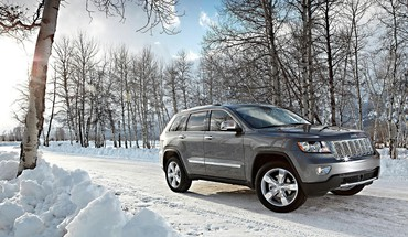 Jeep grand cherokee suv cars nature HD wallpaper