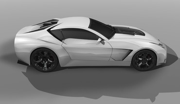 Design White Lamborghini Concept Art 2009 toro  HD wallpaper