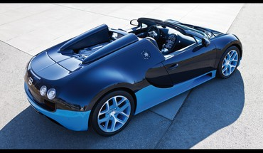 Bugatti veyron blue cars grand HD wallpaper