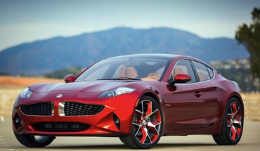 Fisker atlantic cars red HD wallpaper