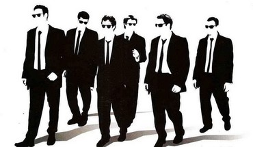 Reservoir dogs silhouettes HD wallpaper