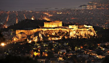 Acropolis athens cityscapes landscapes HD wallpaper
