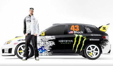 Ken Block Subaru Impreza WRX STI voitures  HD wallpaper