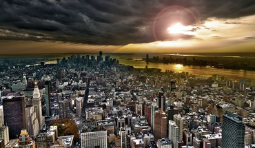 New York City paysages urbains d'architecture paysages skylines  HD wallpaper