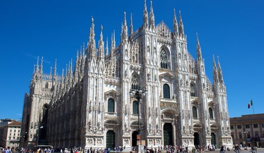 Milano buildings churches ltaly HD wallpaper