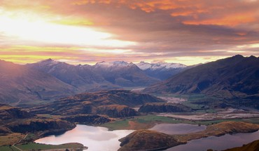 Lake Wanaka Mount Aspiring neuseeland  HD wallpaper