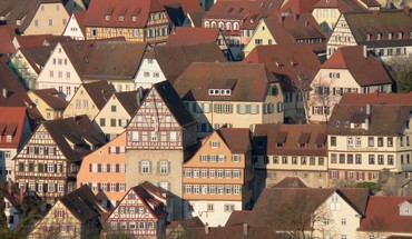 Wall town german HD wallpaper