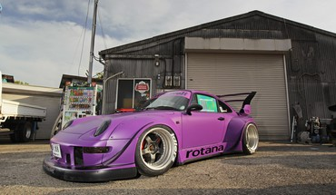 Rwb cars drift maximum speed tuning HD wallpaper