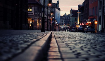 Cityscapes macro poznan streetscape HD wallpaper