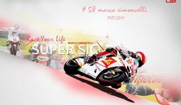 Marco Simoncelli  HD wallpaper