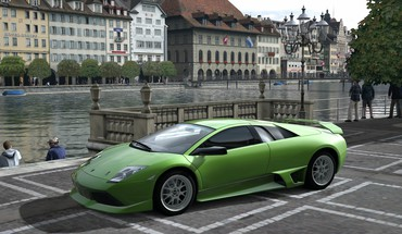 Gt5 gran turismo 5 italien Lamborghini Murcielago  HD wallpaper