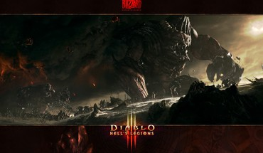 Blizzard entertainment diablo iii hell black HD wallpaper