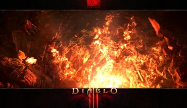 Blizzard entertainment diablo iii burning crater HD wallpaper