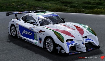 Forza motorsport 4 panoz xbox 360 abruzzi cars HD wallpaper