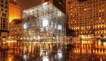 """ Apple Inc ""Central Park Niujorkas stikliniai  HD wallpaper"