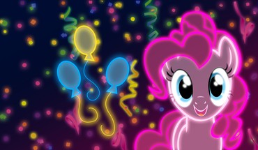 My little pony: friendship is magic neon HD wallpaper
