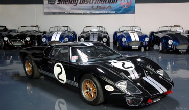 Ford GT40 de voitures Shelby HD wallpaper