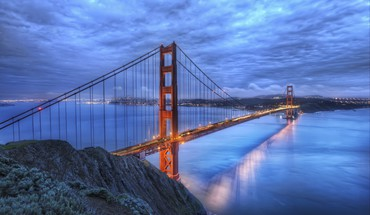 Golden gate bridge bridges HD wallpaper