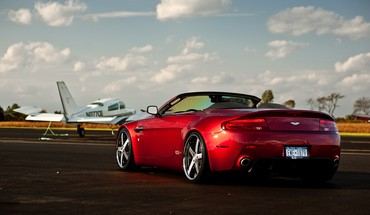 Aston martin v8 vantage cabrio cars vehicles HD wallpaper