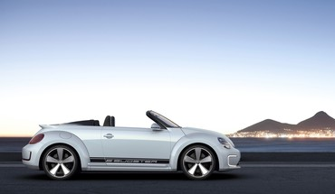 Ebuster volkswagen concept art convertible static HD wallpaper