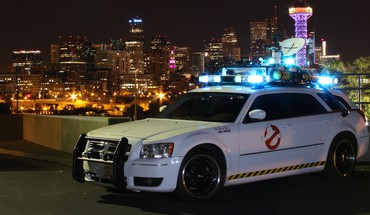 Ghostbusters automobiles cars speed transportation HD wallpaper