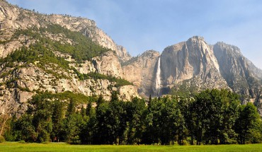Yosemite national park landmark landscapes mountains nature HD wallpaper