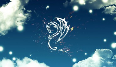 Abstract artwork clouds dragons skyscapes HD wallpaper