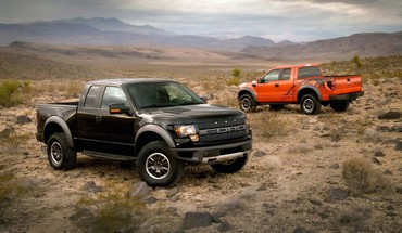 Cars desert ford f150 svt raptor pickup trucks HD wallpaper