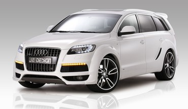 Audi q7 german cars je design suv lights HD wallpaper