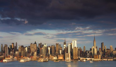 New york city cityscapes skyline landscapes skyscrapers HD wallpaper