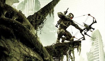 Crysis 3 new york city jungle nanosuit ruins HD wallpaper