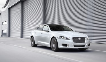 Jaguar XJ Bewegung Autos ultimative  HD wallpaper