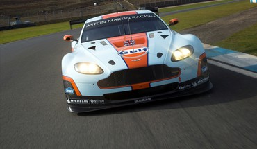 Aston martin vantage gt cars racing HD wallpaper