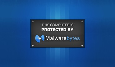Malwarebytes blue background HD wallpaper