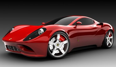 Ferrari automobiles cars dinosaurs races HD wallpaper