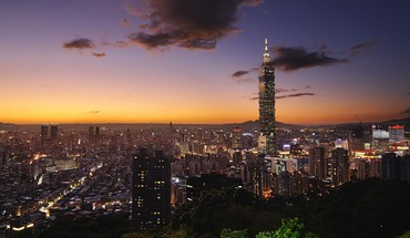 Taipei 101 cityscapes city skyline landscapes HD wallpaper