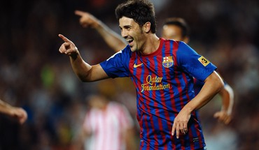David Villa FC barcelona  HD wallpaper