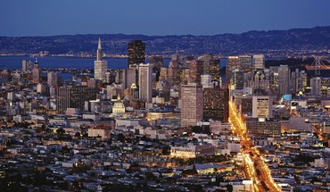 San francisco cities cityscapes night city HD wallpaper