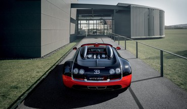 Bugatti veyron grand sport black cars red HD wallpaper